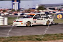 Ford Sierra RS500 Cosworth Andy Middlehurst  BTCC Silverstone 1991
